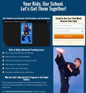 martial arts websites