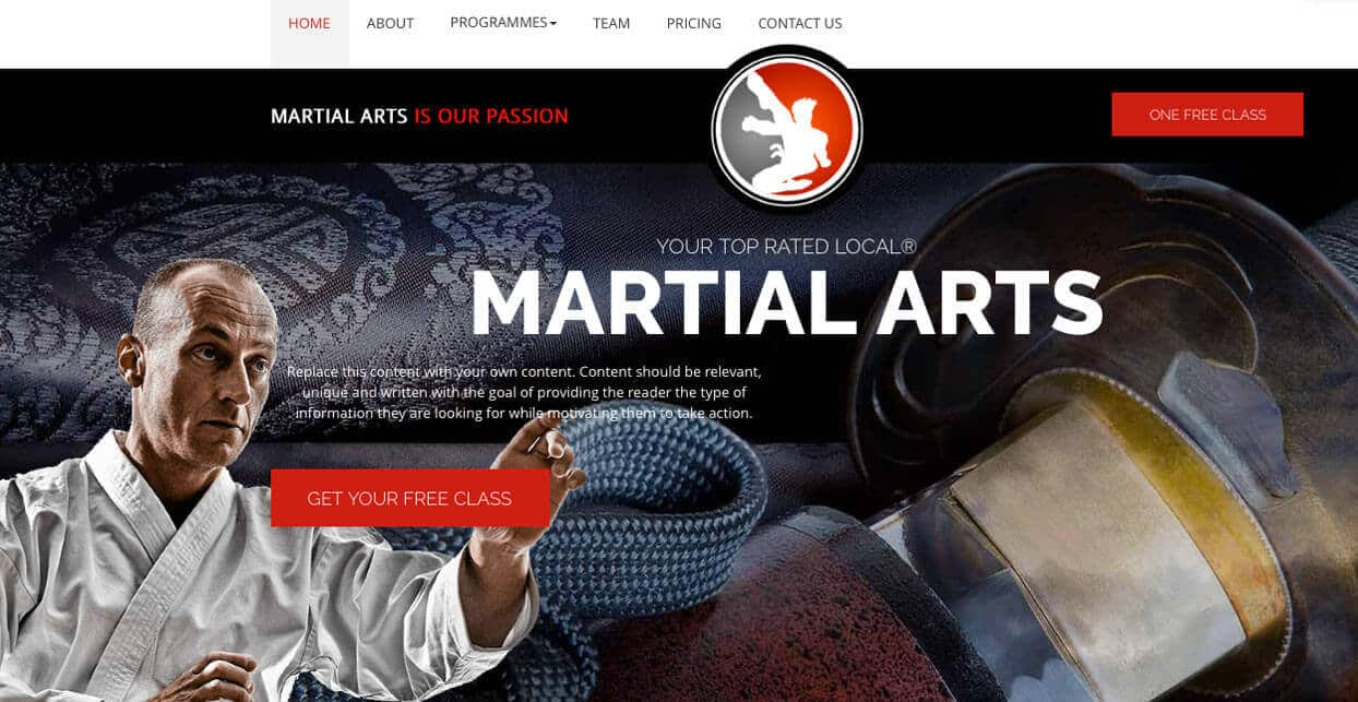 Martial Arts Business Blog