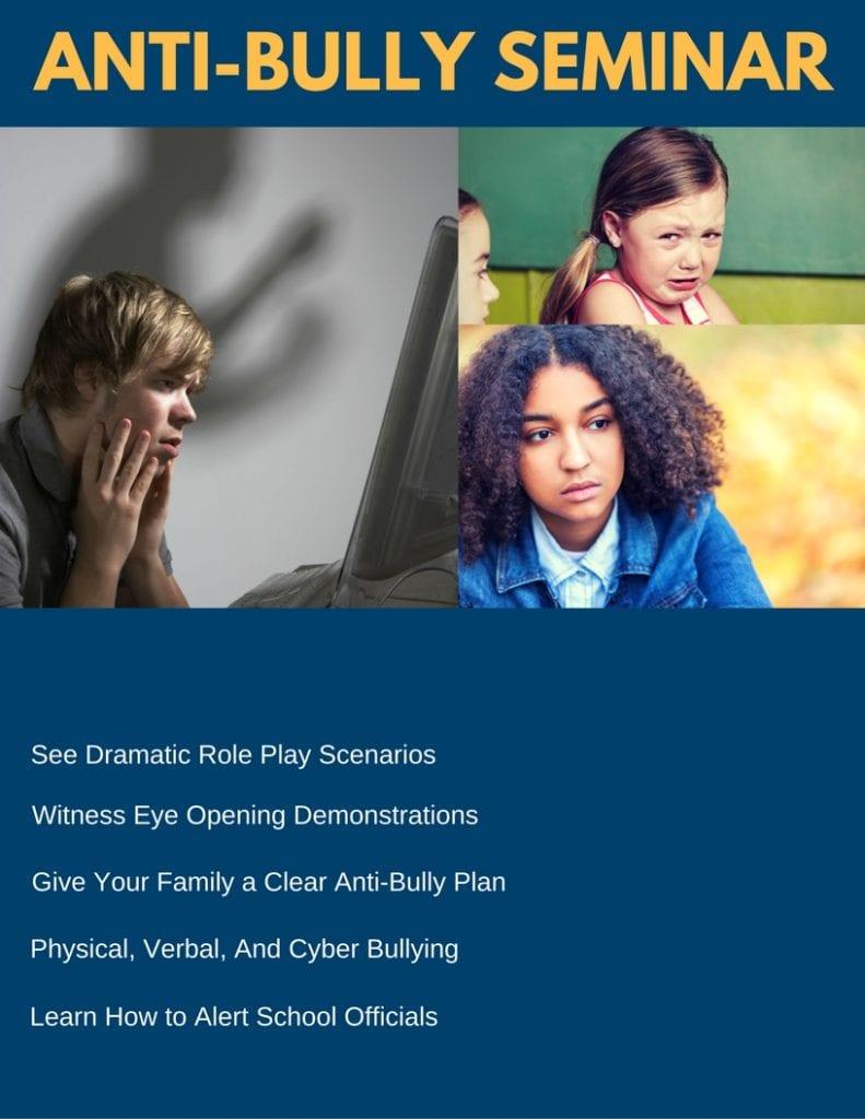 Anti-Bully Print Flyer