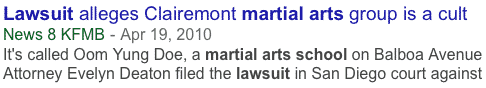 MATA and SFIC Team Up to Provide Answers About Martial Arts School Insurance