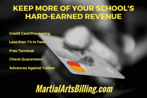 martial arts tuition collections