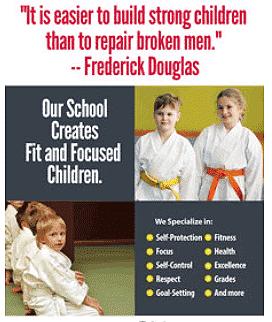 martial arts back to school marketing