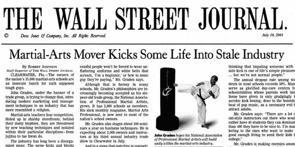 martial arts marketing leader