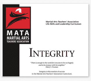 martial arts curriculum
