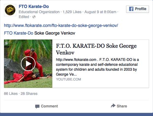 facebook ads for martial arts schools