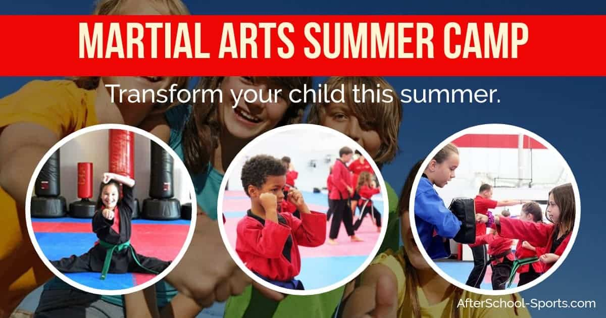 Martial Arts Summer Camp Promotional Emails