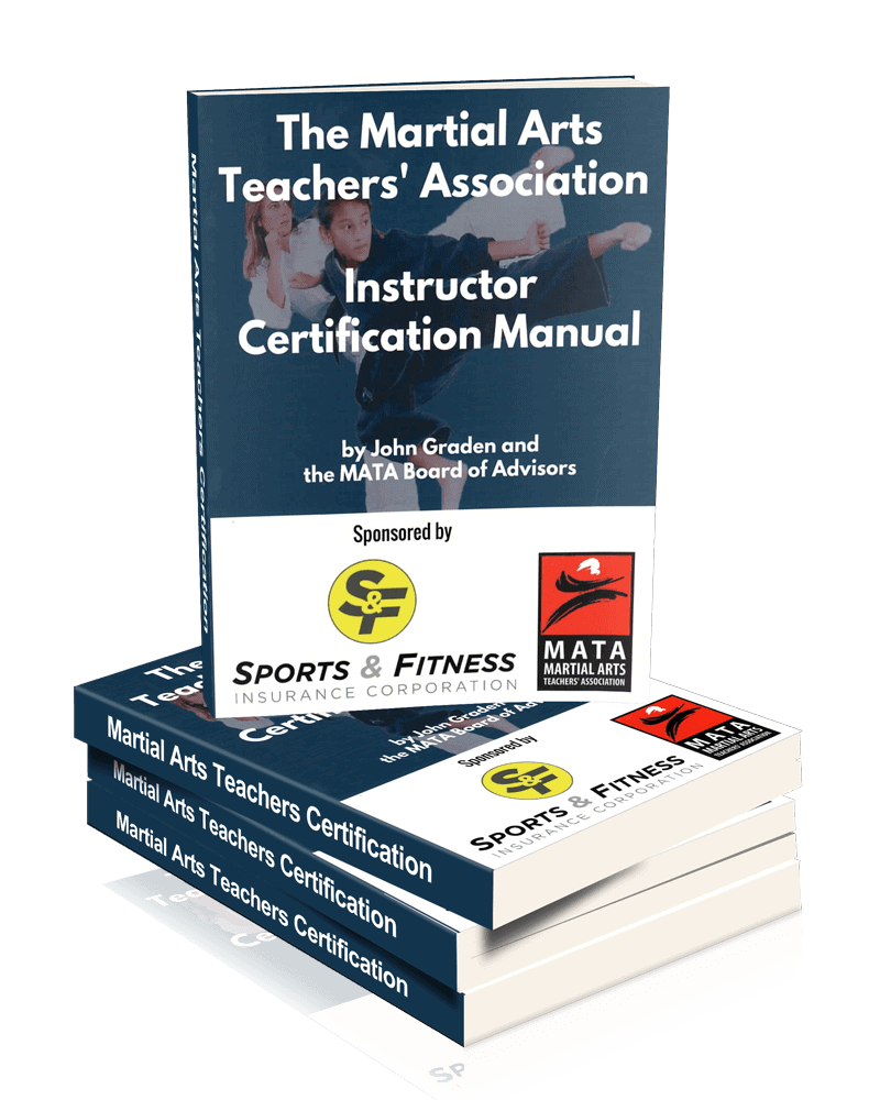 official manual for martial arts instructor certification