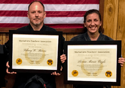 martial arts teachers association graduates certificate