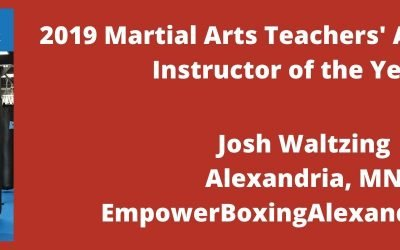 2019 MATA Instructor of the Year: Josh Waltzing