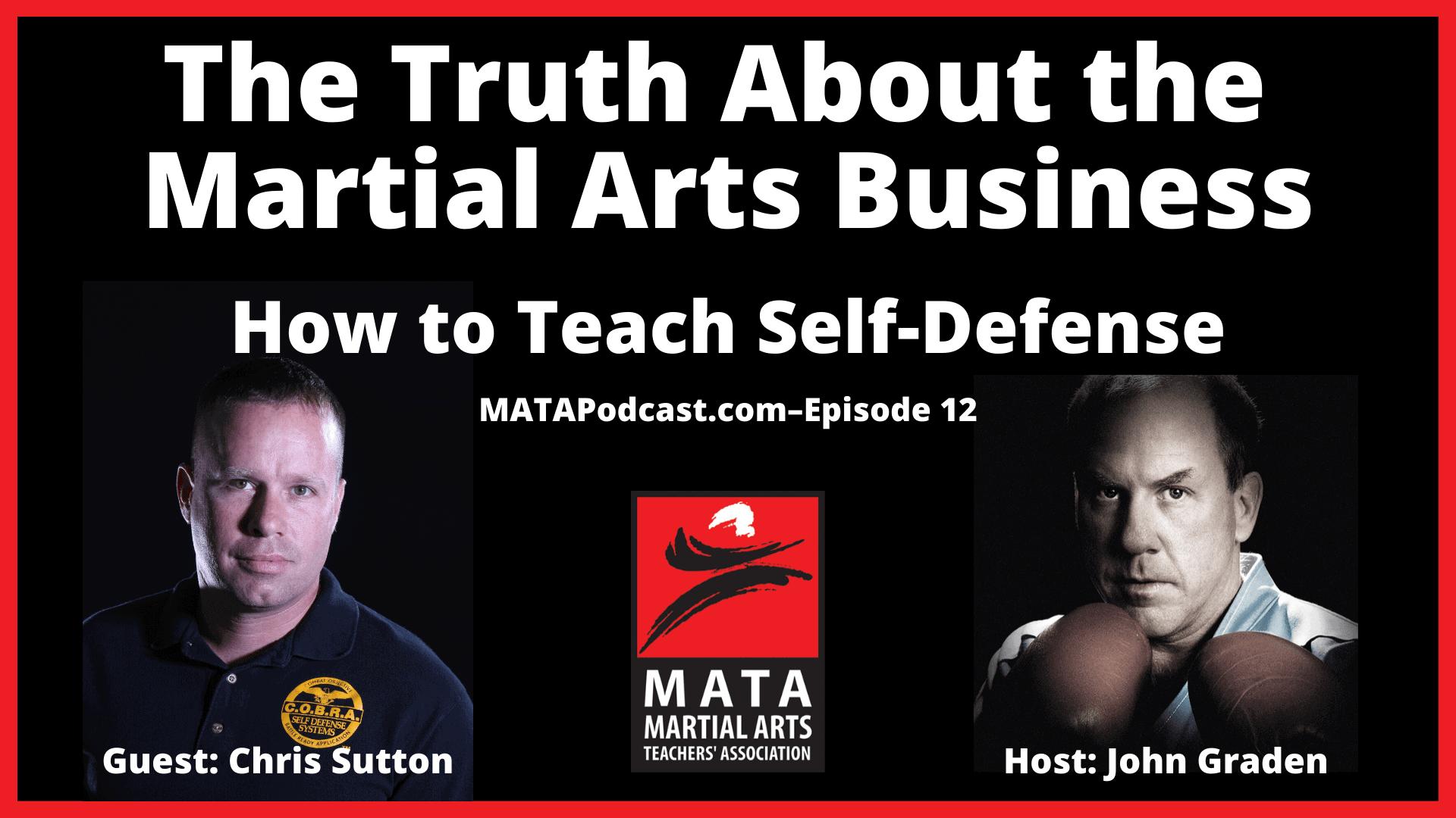how to teach self-defense
